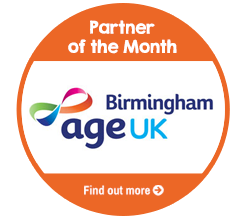 Find out about Age UK Birmingham, our Partner of the Month