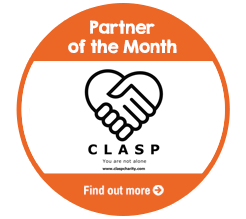 Find out about CLASP, our Partner of the Month