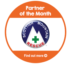 Find out about Scottish Mountain Rescue, our Partner of the Month
