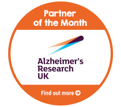 Find out more about Alzheimer's Research UK, our Partner of the Month forAugust