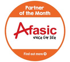 Find out more about Afasic, our Partner of the Month for October