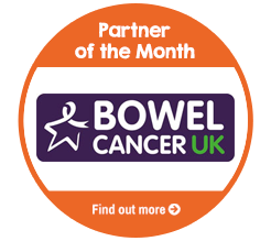 Find out more about Bowel Cancer UK, our Partner of the Month for December