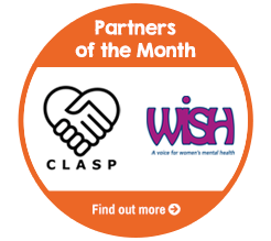 Find out about Partners of the Month for May, WISH and CLASP!