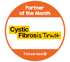 Find out about Partner of the Month for June, Cystic Fibrosis Trust!