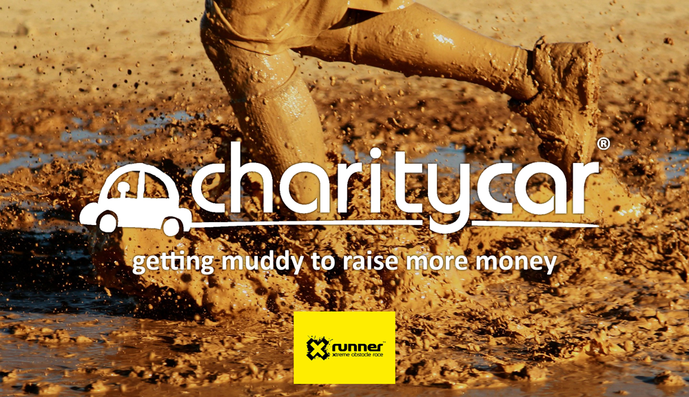 Charity Car getting muddy to raise more money