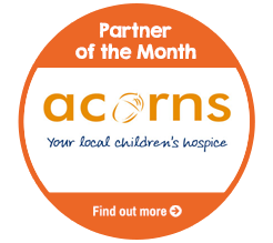 Find out about Partner of the Month for November, Acorns Children's Hospice!
