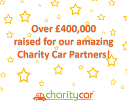 We have raised over £400,000 for our Charity Car Partners