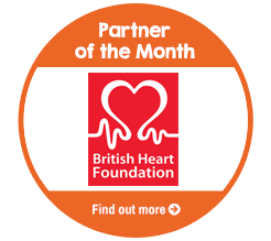 Find out about Partner of the Month for February, The British Heart Foundation!