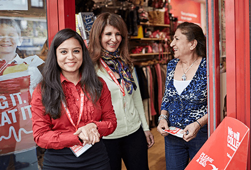 The BHF Shop Workers