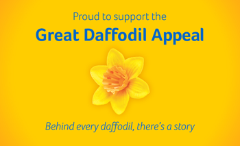 Proud To Support The Great Daffodil Appeal
