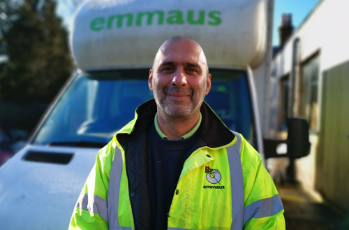 Emmaus UK Driver And Van