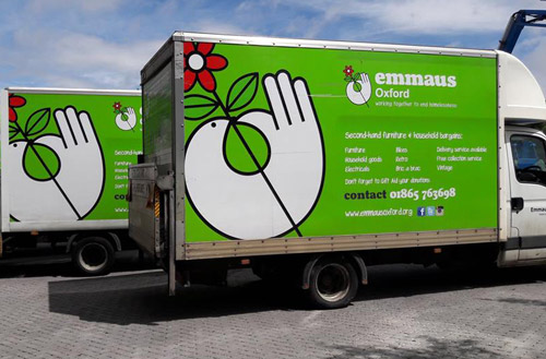 Emmaus Oxford Community Van