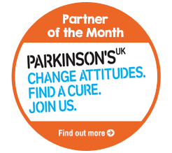 Find out about Partner of the Month for April, Parkinson's UK!