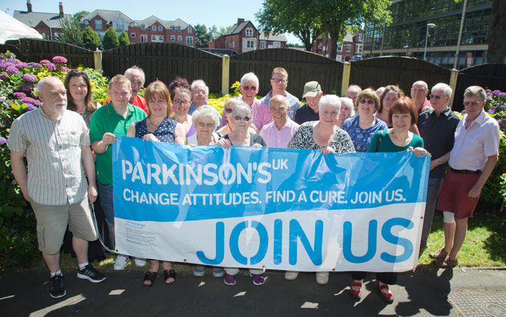 Parkinson's UK - Join Us Banner