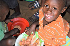 Kids Club Kampala Feeding Programme