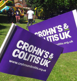 Crohn's & Colitis UK Flags