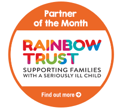 Find Out About Partner Of The Month for June, The Rainbow Trust!