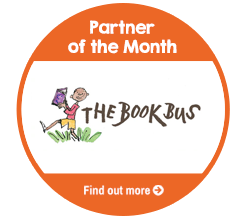 Find Out About Partner Of The Month for September, The Book Bus Foundation!