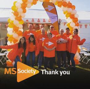MS Society Thank You