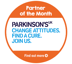 Find out about Parkinson's UK, our Partner of the Month